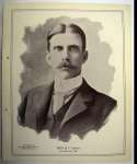 1898 National Copper Plate 17 Fred Ely Ex-Mt*