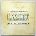 Burton, Richard & Hume Cronyn Signed Hamlet Program 8 JSA LOA (FULL)