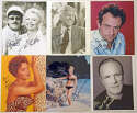 8 x 10  Collection of 80 Signed Photos 9
