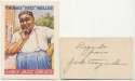 Jazz Card Set w/Jack Teagarden Signature 9