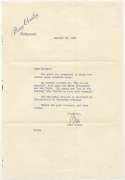 Letter  Crosby, Bing 1950 TLS 8