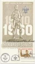 Postcard  Rockwell, Norman Boy Scout Postcard 9.5