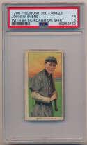 1909 T206 161 Evers (w/bat, Chcgo on shirt) PSA 1.5