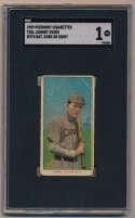 1909 T206 162 Evers (w/bat, Cubs on shirt) SGC 1