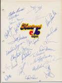 Team Sheet  1982 Dodgers (18 w/LaSorda, Valenzuela, Welch) 9
