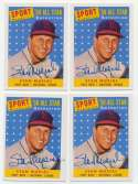 1958 Topps 487 Musial AS (ECN Reprint, 10) 9.5