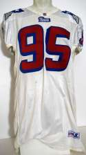 2006   Henry Thomas Late 1990s Home Patriots Jersey Ex-Mt