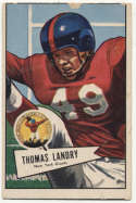 1952 Bowman Large 142 Landry Good