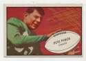 1953 Bowman 73 Pete Pihos VG-Ex/Ex