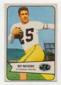 1954 Bowman 1 Ray Mathews Ex+