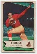 1954 Bowman 12 Ollie Matson Ex-Mt