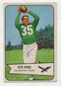 1954 Bowman 9 Pete Pihos Ex-Mt+