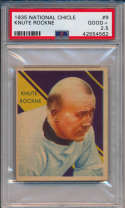 1935 National Chicle 9 Rockne PSA 2.5