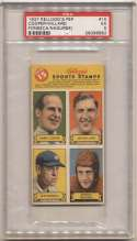 1937 Kelloggs Pep Stamp Panel  Nagurski PSA 5