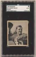 1948 Bowman 22 Baugh SGC Authentic (Overprint back)
