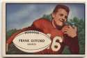 1953 Bowman 43 Frank Gifford SP GVG