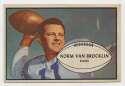 1953 Bowman 11 Norm Van Brocklin Ex