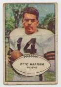 1953 Bowman 26 Otto Graham Poor