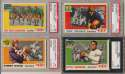 1955 All American  Complete Set w/50 graded cards Ex-Mt