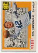 1955 All American 85 Luckman Ex