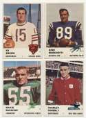 1961 Fleer  109 different w/minor stars Ex-Mt/NM