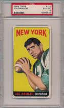 1965 Topps 122 Joe Namath RC PSA 6