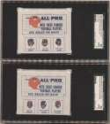 1966 American Oil Panel  Near Set (6 panels, 18 stamps) w/Sayers RC SGC 2 (all)