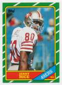 1986 Topps 161 Rice RC NM