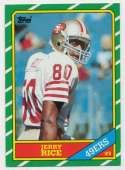 1986 Topps 161 Rice RC NM+