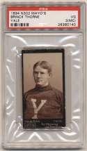 1894 N302 Mayo 29 Brinck Thorne (Yale) PSA 3 mc