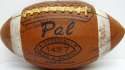 Auto Football  1967 Green Packers Signed Football (Super Bowl II) 8.5