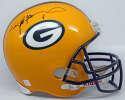 Helmet  Favre, Brett Signed Full Size Helmet 9.5