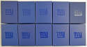 2014   Collection of 22 Official NY Giants pins in original boxes Nm-Mt