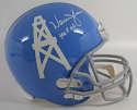 Helmet  Moon, Warren Signed Full Size Helmet 9.5