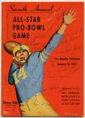 Program  1957 Pro Bowl Signed Program (22 sigs) 9