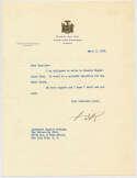 Letter  FDR 9