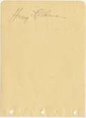 Album Page  Feldman, Harry (rare) 9