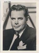 Photo  Ford, Glenn (vintage) 9 JSA LOA (CARD)
