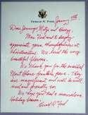 Letter  Ford, Gerald ALS 9.5