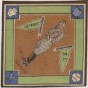 1914 B18 Blanket 27.2 Del Gainor (brown infield) Ex-Mt
