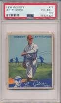 1934 Goudey 19 Grove PSA 4.5