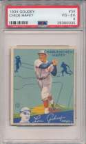 1934 Goudey 34 Hafey PSA 4