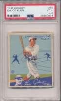 1934 Goudey 10 Klein PSA 3.5