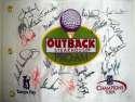 2006 Flag w/14 signatures 9 JSA LOA