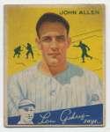 1934 Goudey 42 Allen VG