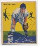 1934 Goudey 17 Critz GVG