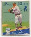 1934 Goudey 47 Frederick VG