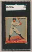 1933 Goudey 92 Lou Gehrig SGC 2