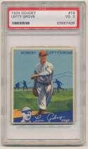 1934 Goudey 19 Grove PSA 3