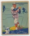 1934 Goudey 34 Hafey Good
